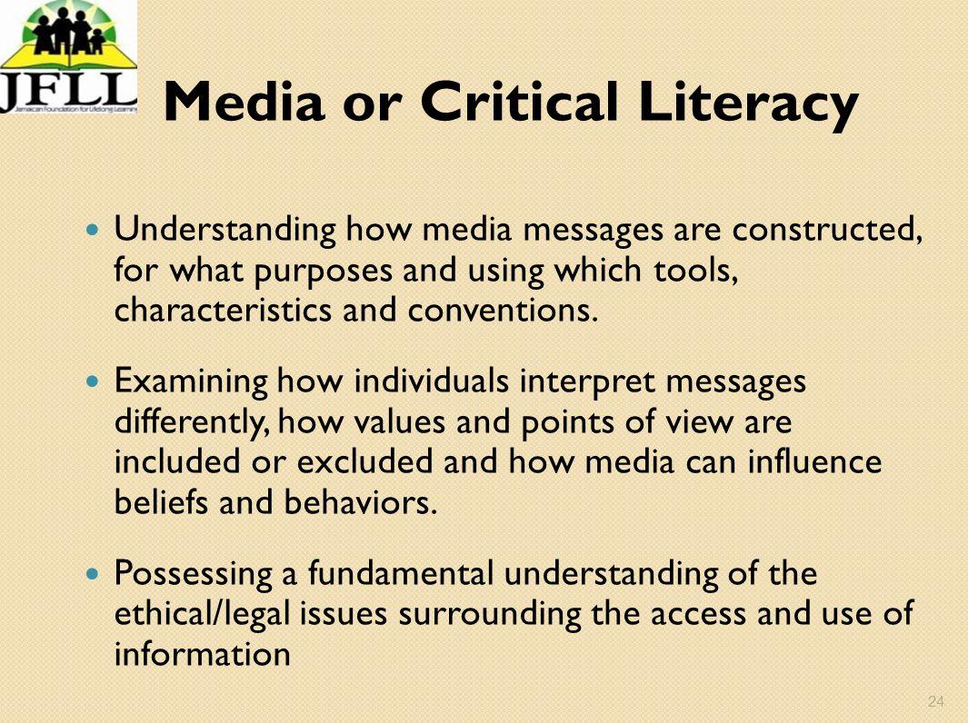 Media or Critical Literacy