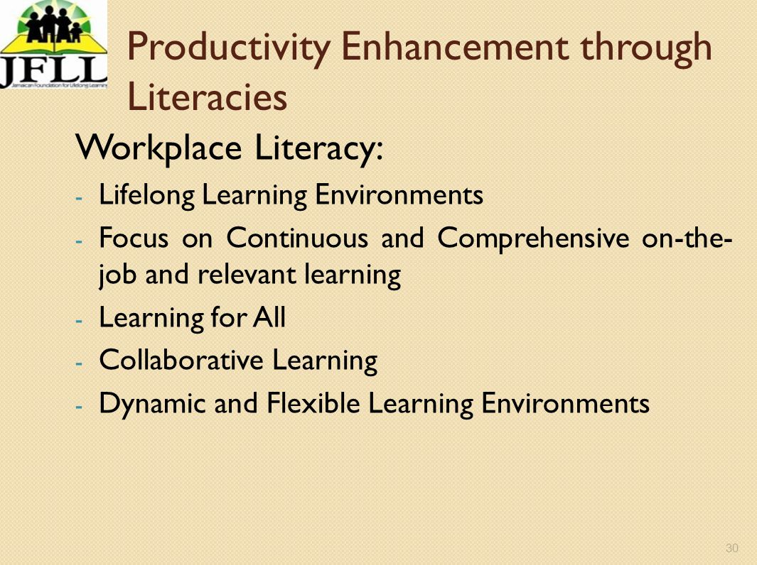 Productivity Enhancement through Literacies