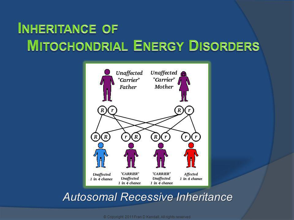 Mitochondrial Energy Disorders