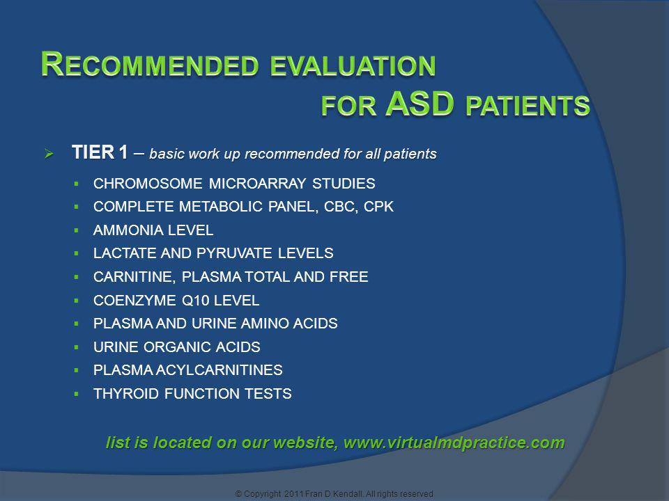 list is located on our website, www.virtualmdpractice.com