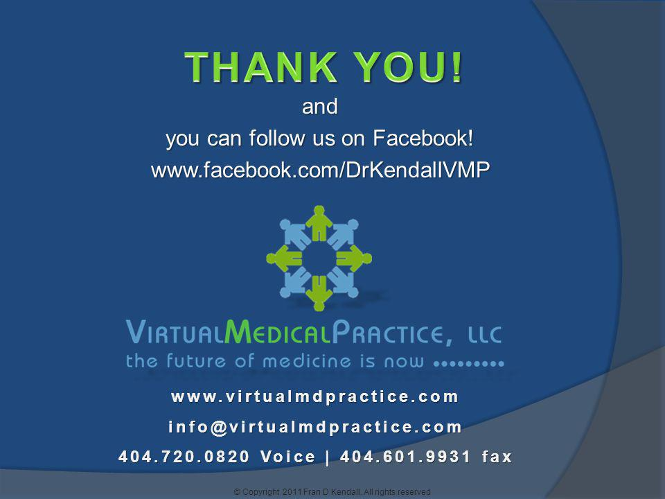 THANK YOU! and you can follow us on Facebook!