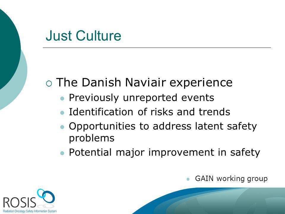 Just Culture The Danish Naviair experience