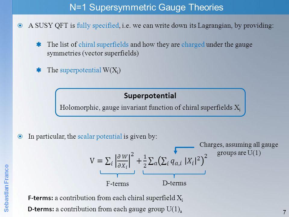 N=1 Supersymmetric Gauge Theories