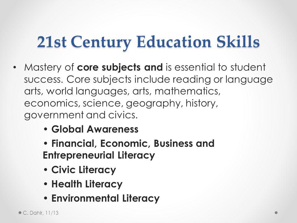 21st Century Education Skills