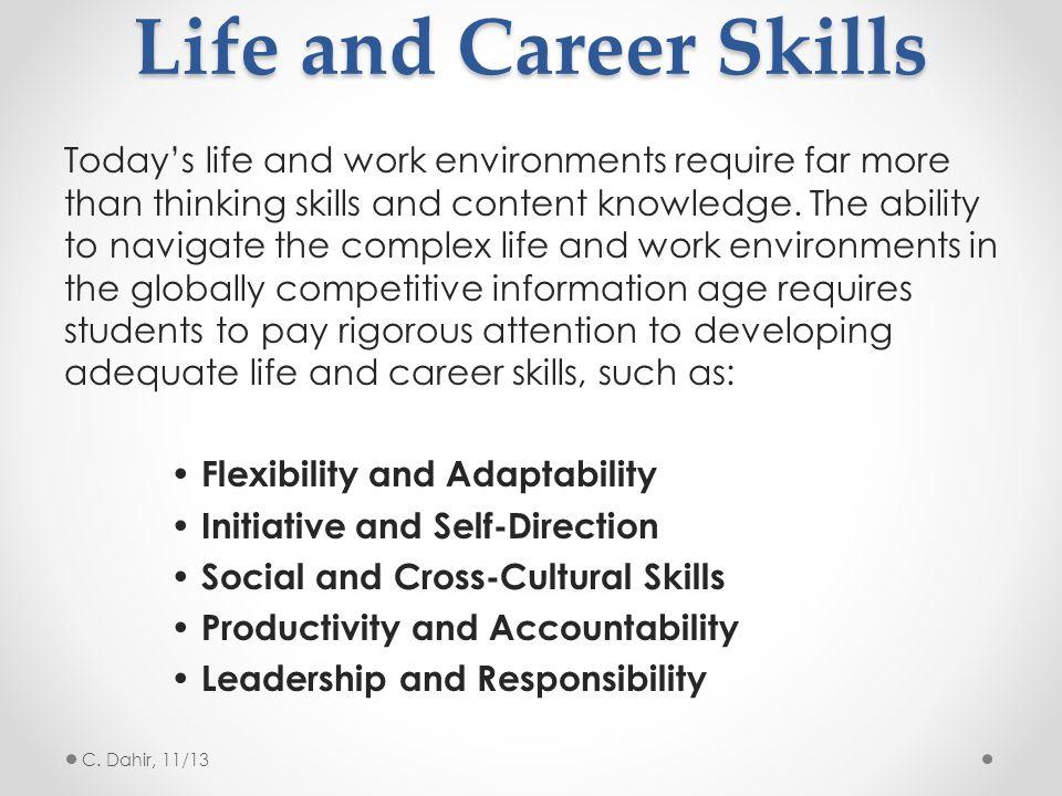 Life and Career Skills