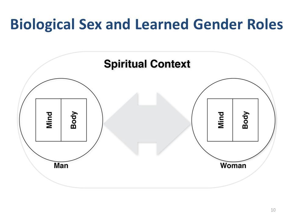 Biological Sex and Learned Gender Roles