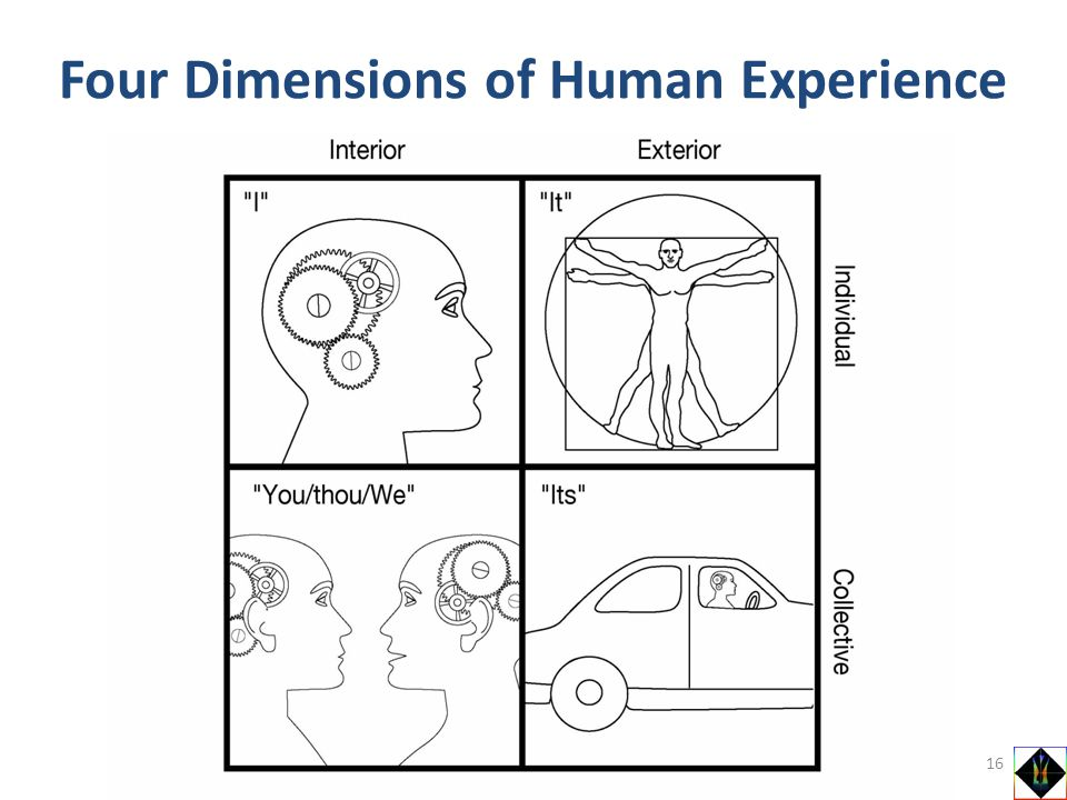 Four Dimensions of Human Experience