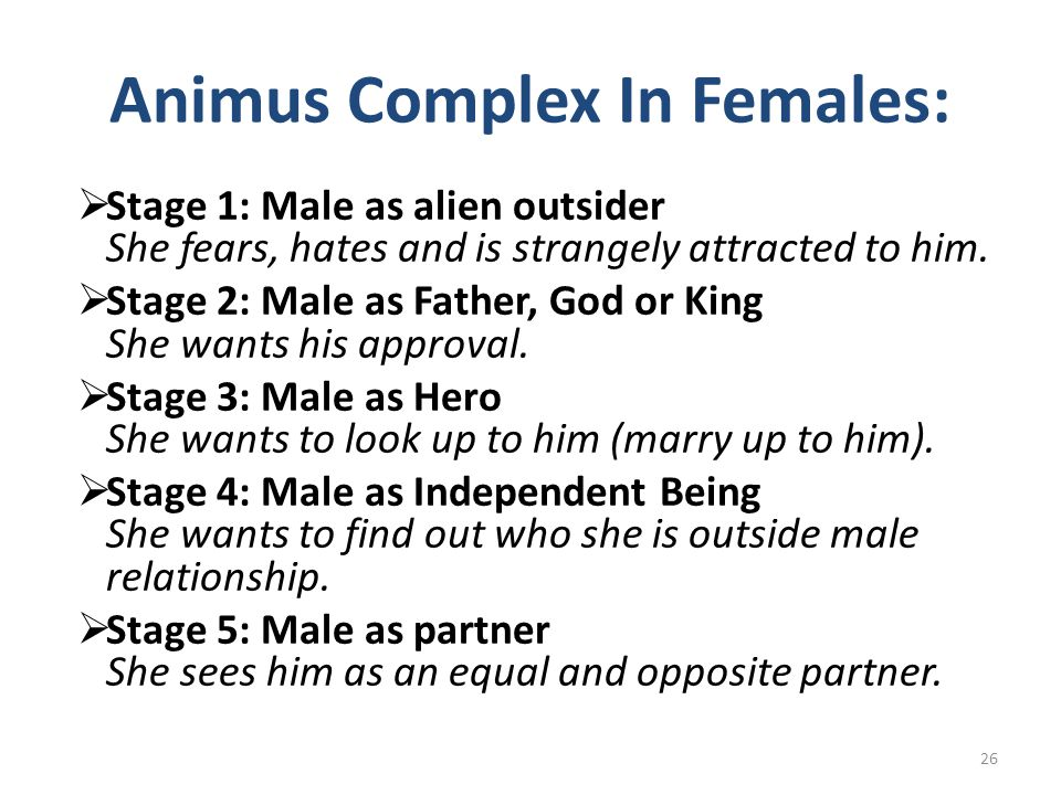 Animus Complex In Females: