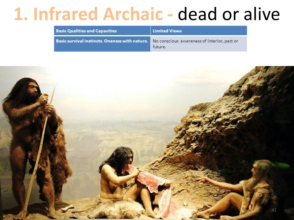 1. Infrared Archaic - dead or alive