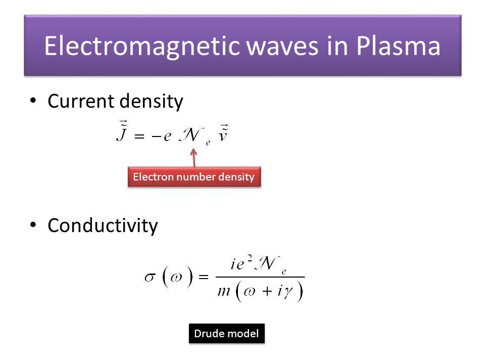 Electromagnetic waves in Plasma