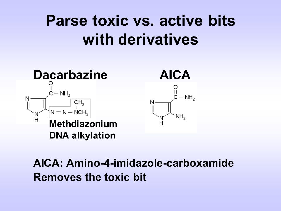 Parse toxic vs. active bits with derivatives