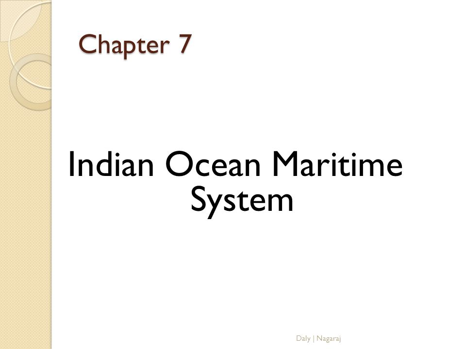 Indian Ocean Maritime System