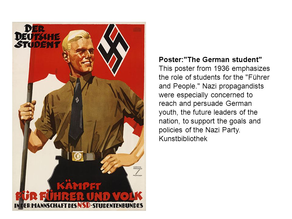 Poster: The German student