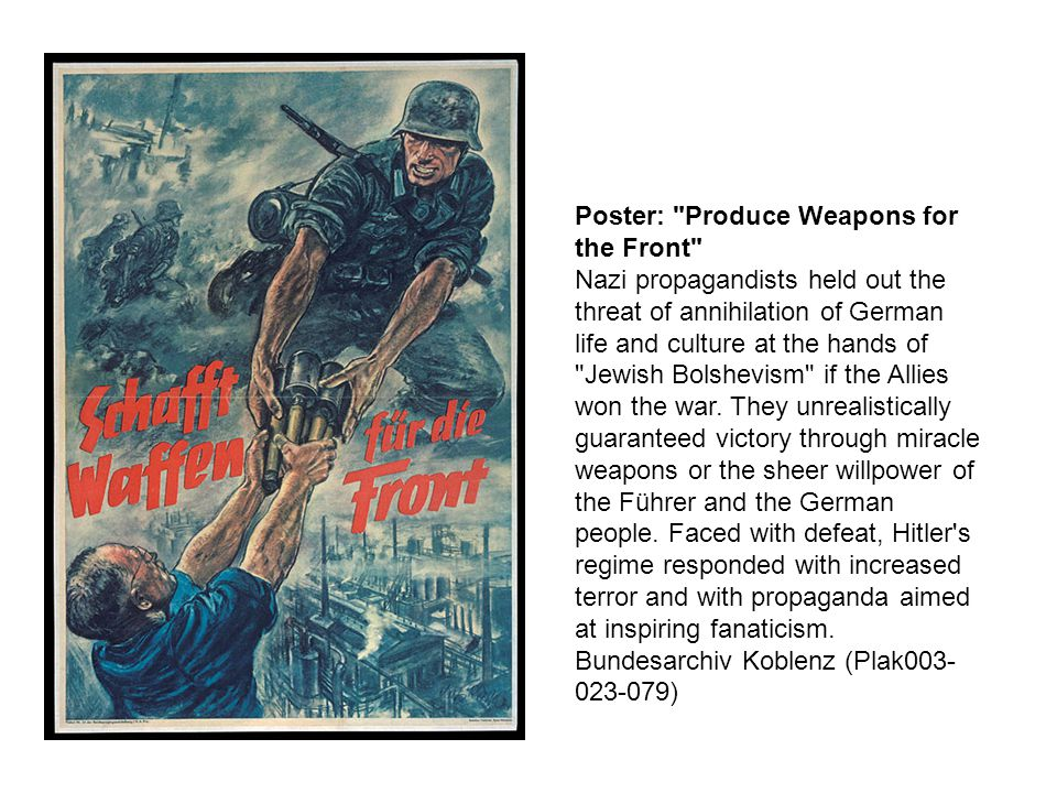 Poster: Produce Weapons for the Front