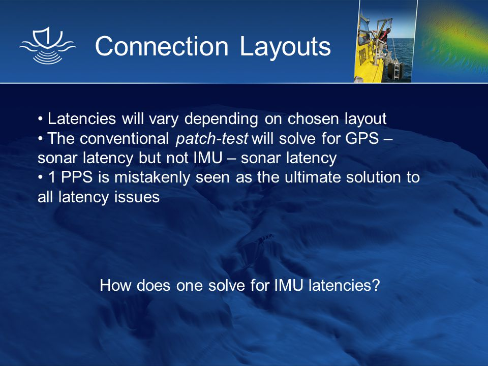 How does one solve for IMU latencies