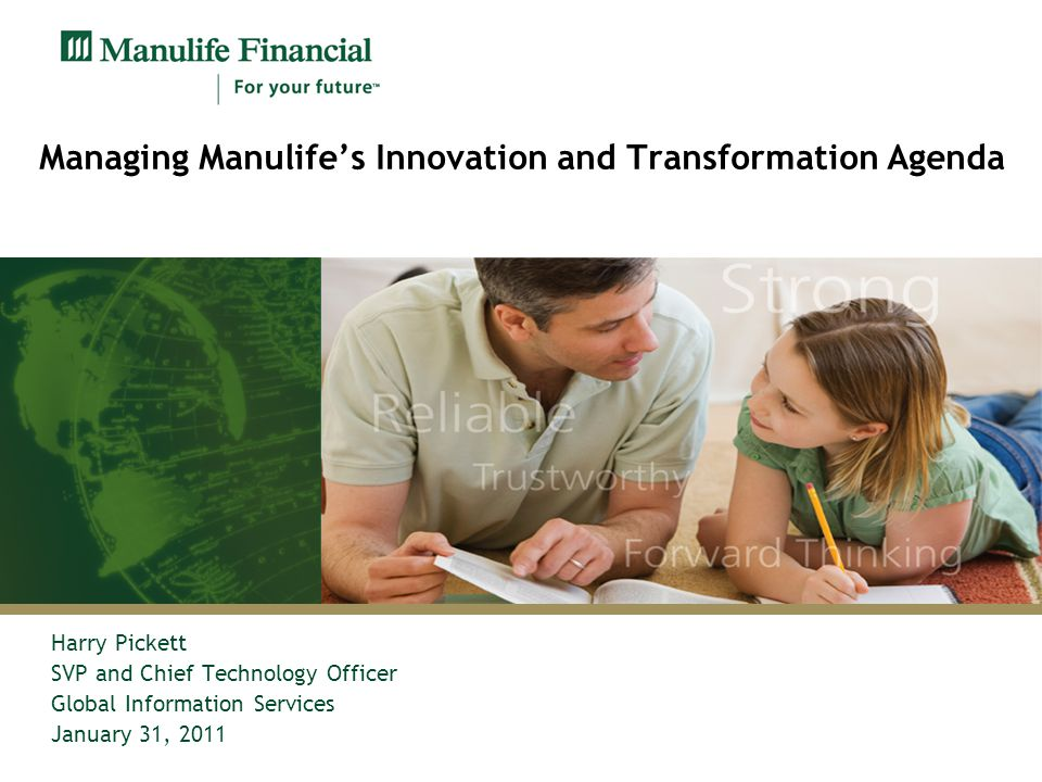 Managing Manulife's Innovation and Transformation Agenda