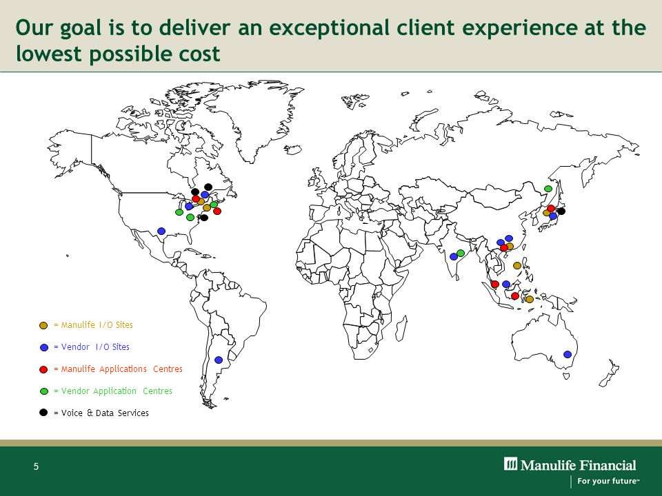 Our goal is to deliver an exceptional client experience at the lowest possible cost