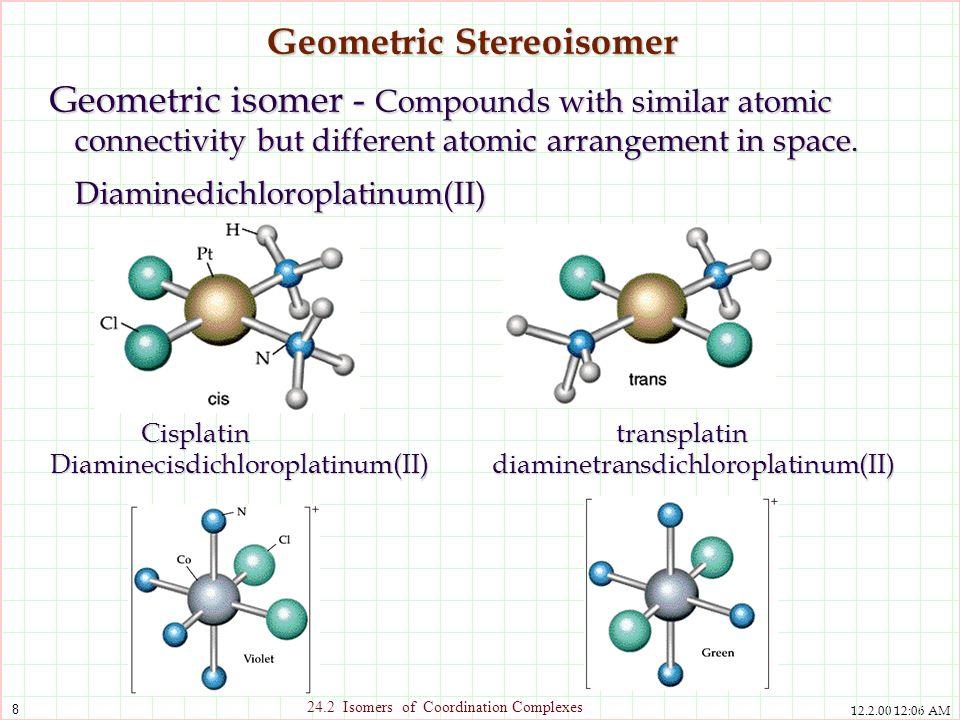 Geometric Stereoisomer