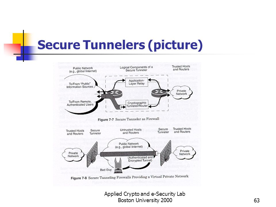 Secure Tunnelers (picture)