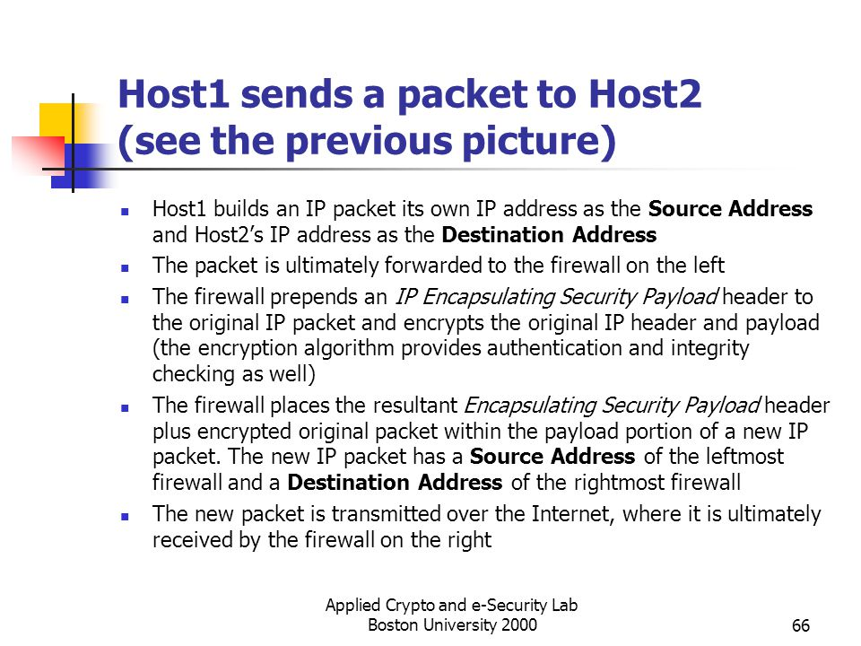 Host1 sends a packet to Host2 (see the previous picture)