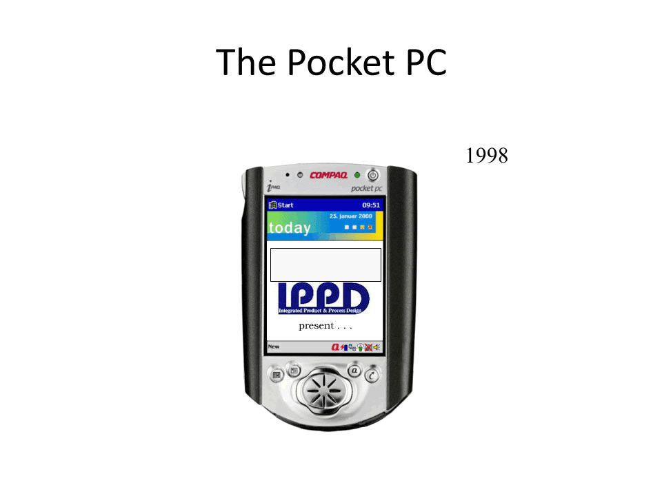The Pocket PC 1998