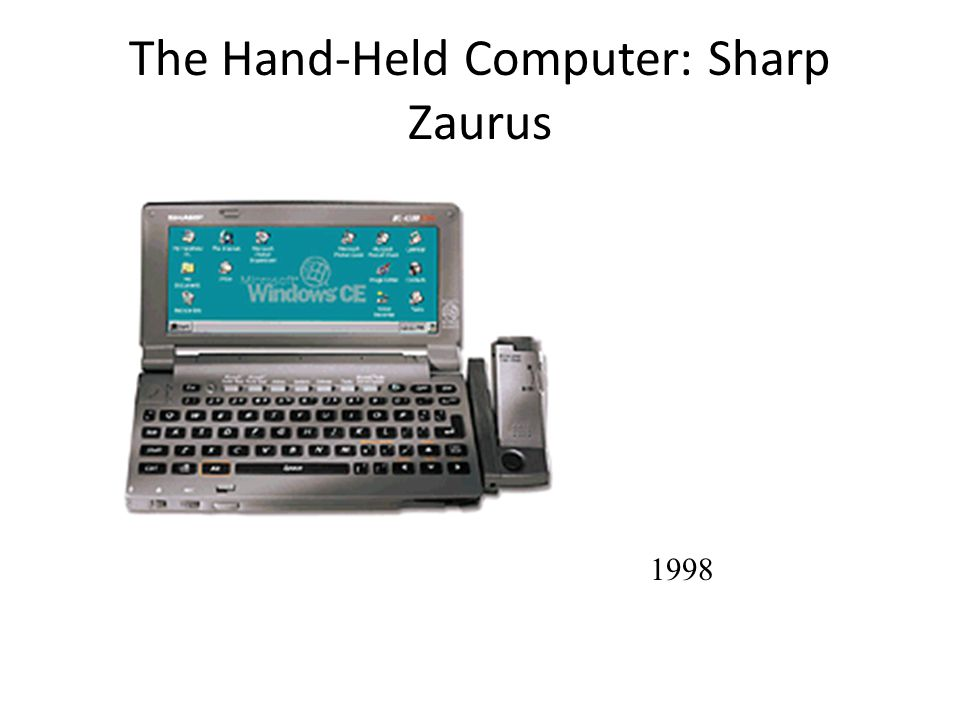 The Hand-Held Computer: Sharp Zaurus