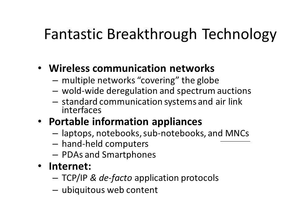Fantastic Breakthrough Technology