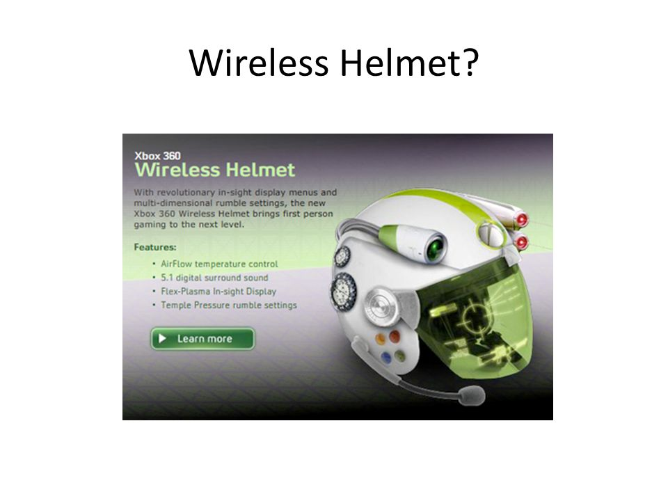 Wireless Helmet