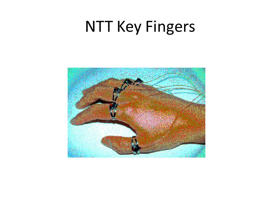 NTT Key Fingers