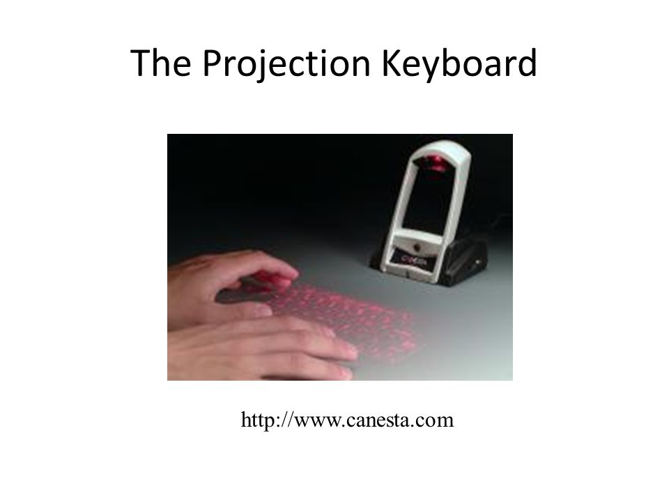 The Projection Keyboard
