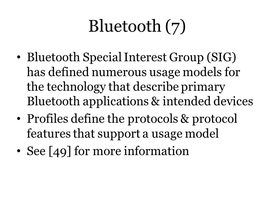Bluetooth (7)