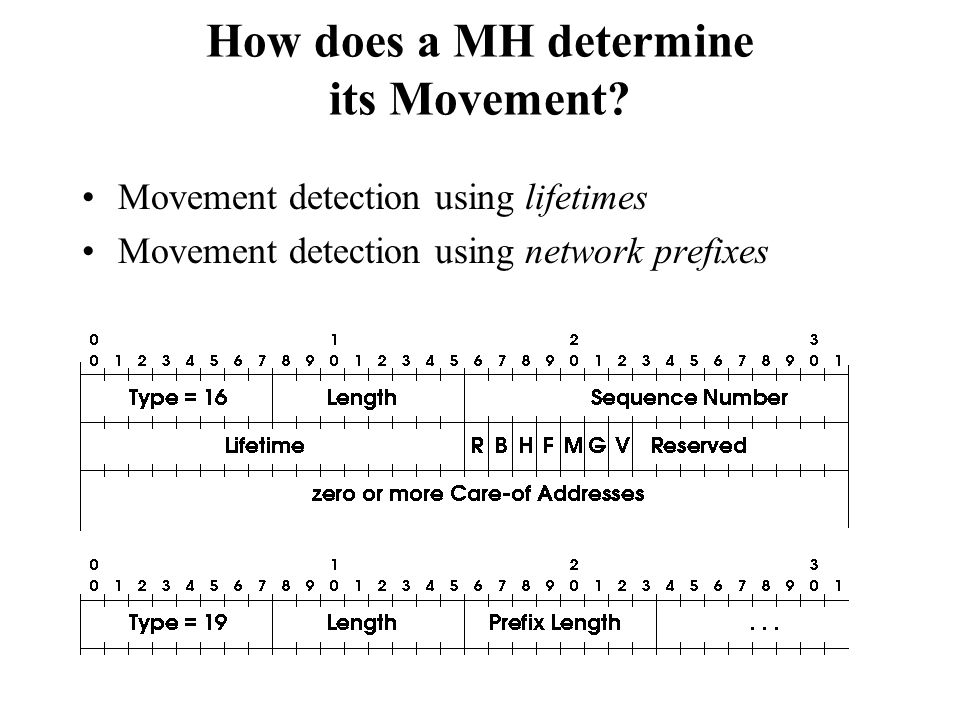 How does a MH determine its Movement
