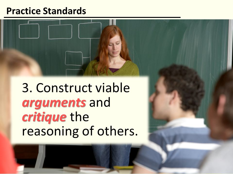 3. Construct viable arguments and critique the reasoning of others.