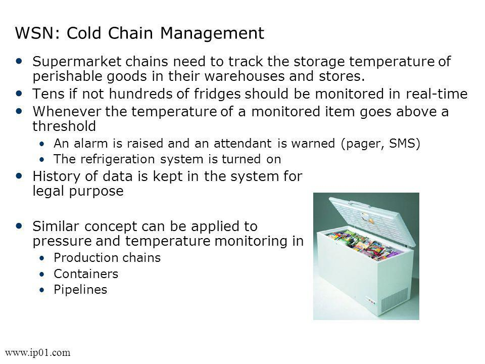 WSN: Cold Chain Management
