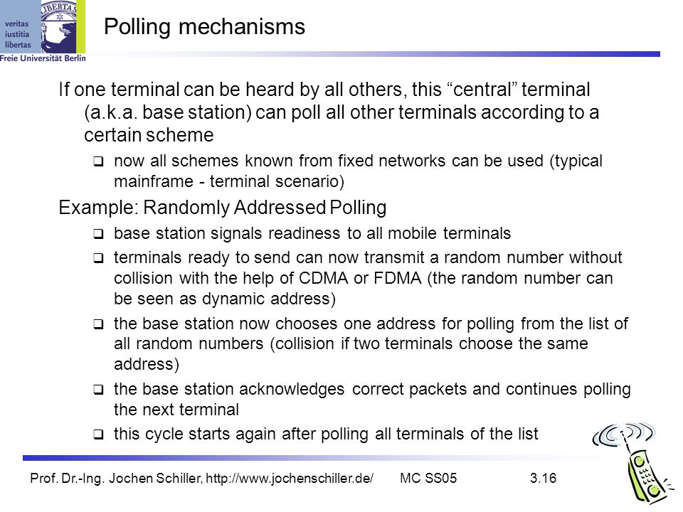 Polling mechanisms