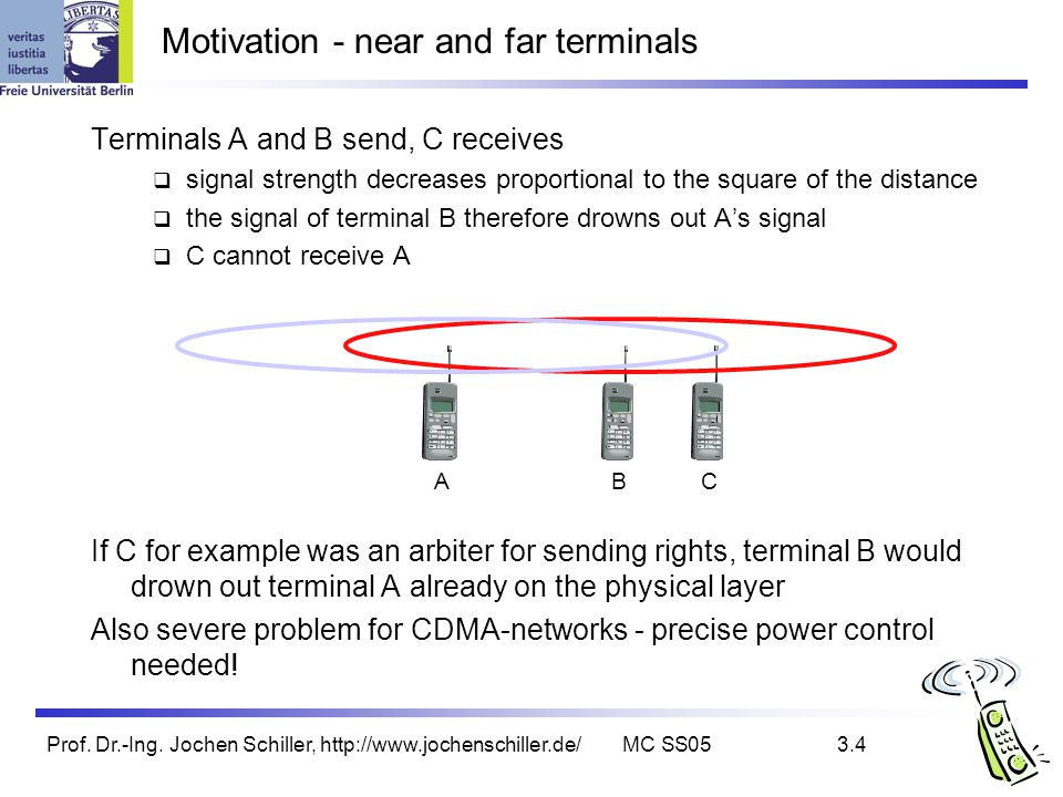 Motivation - near and far terminals