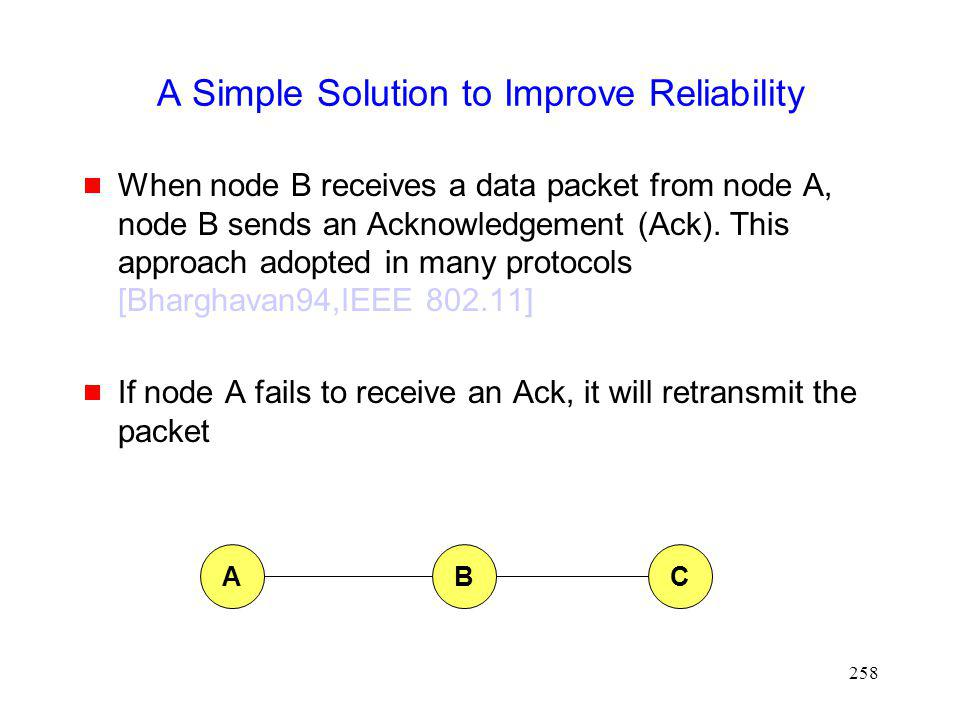 A Simple Solution to Improve Reliability