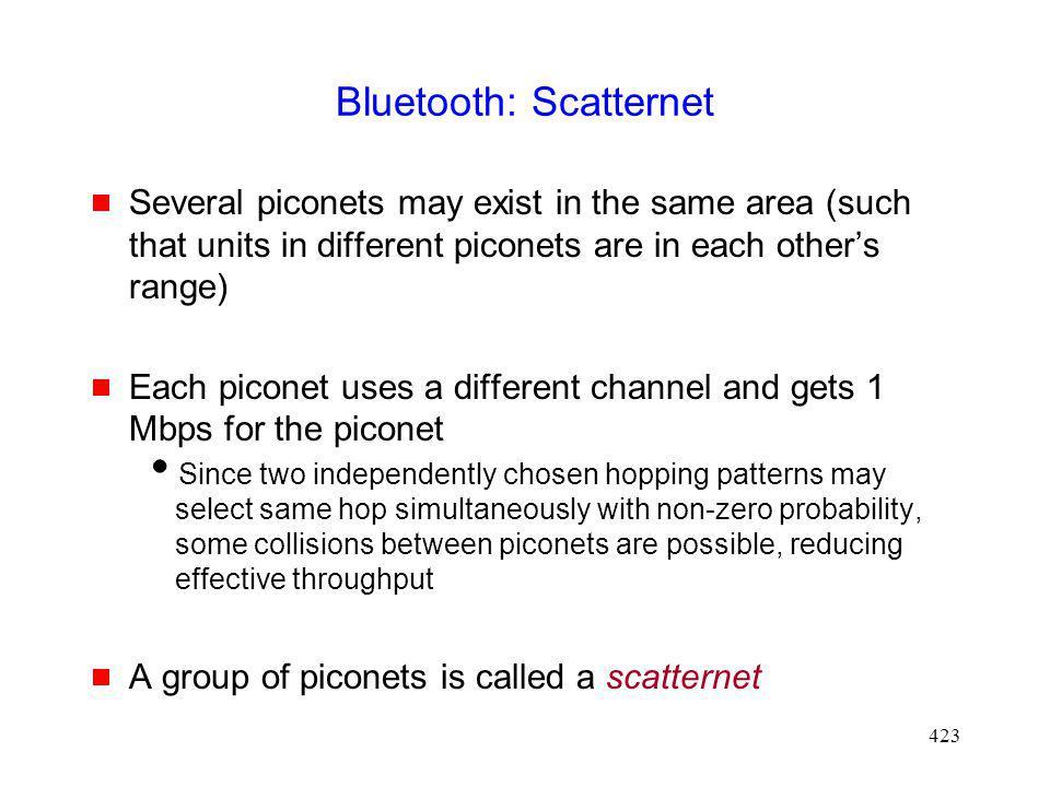 Bluetooth: Scatternet