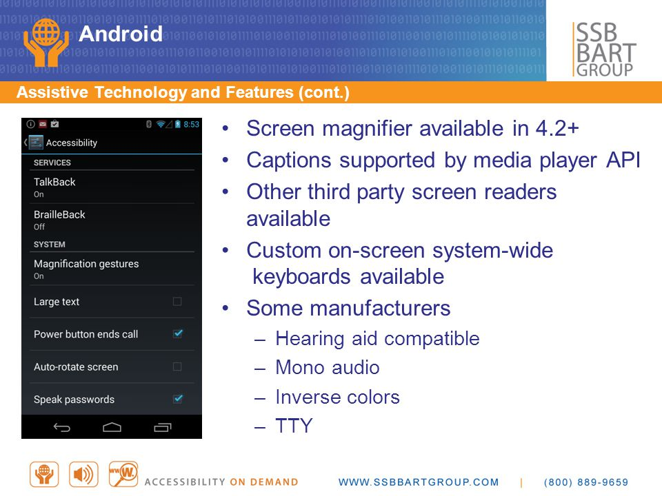 Screen magnifier available in 4.2+