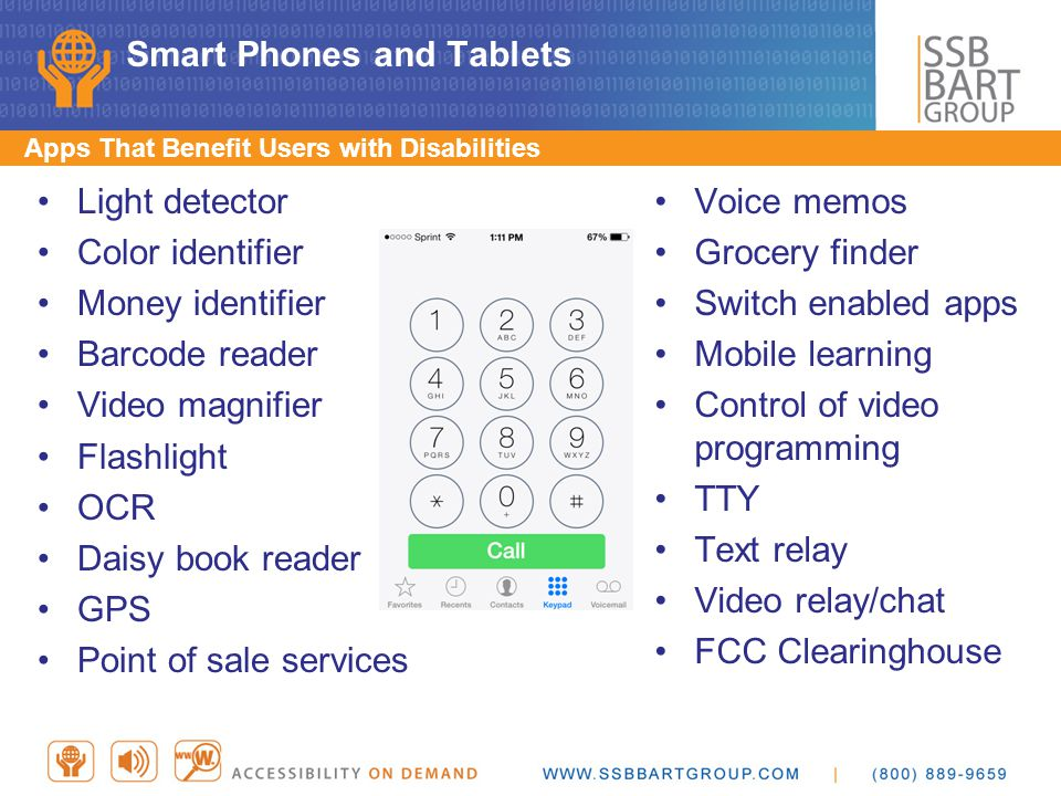 Smart Phones and Tablets