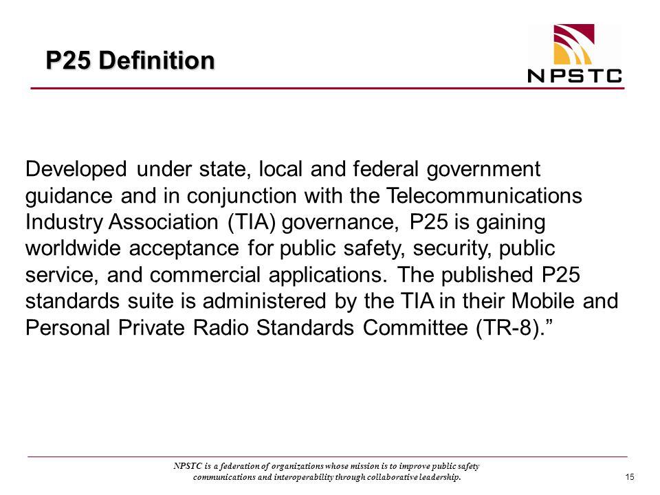 P25 Definition