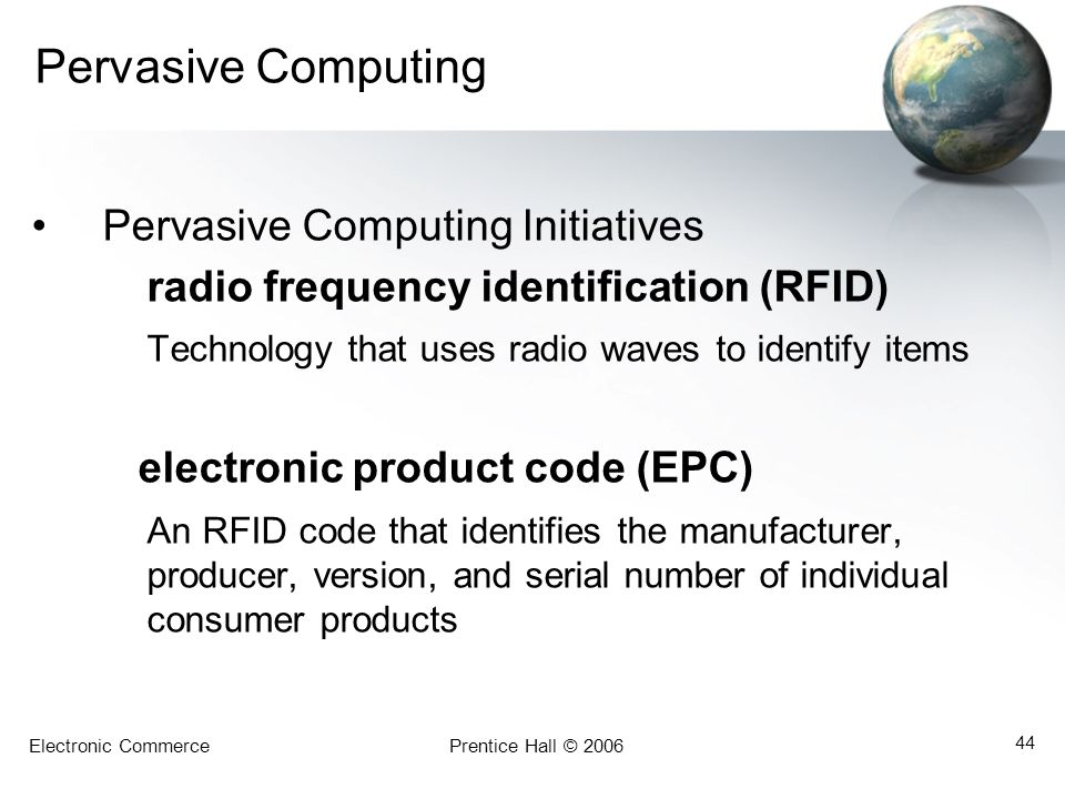 Pervasive Computing Pervasive Computing Initiatives