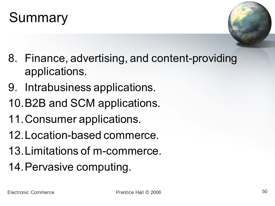 Summary Finance, advertising, and content-providing applications.