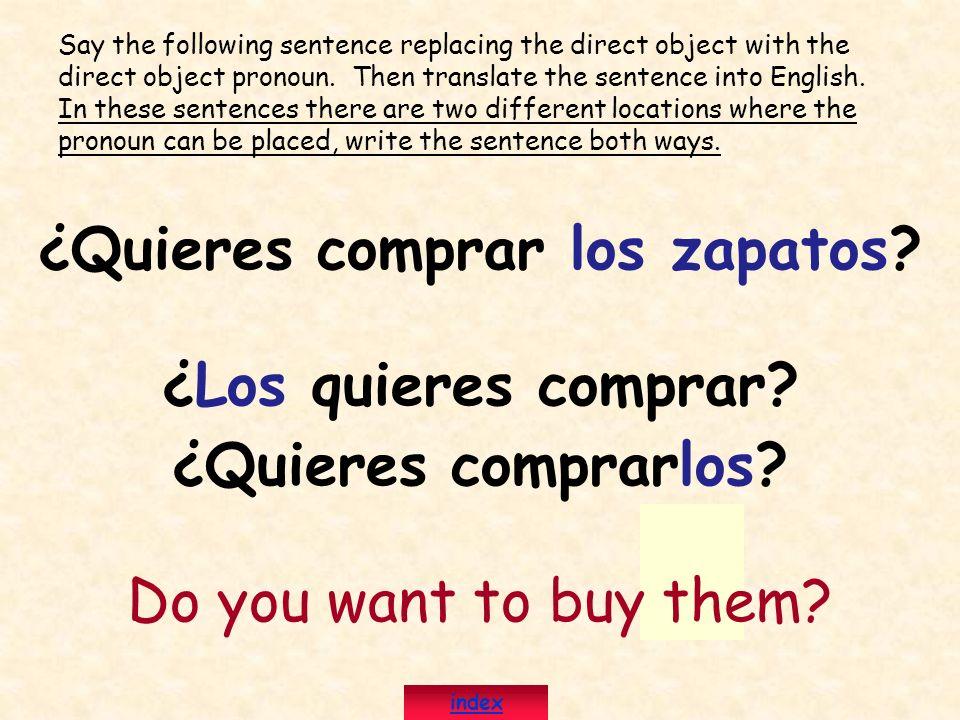 ¿Quieres comprar los zapatos