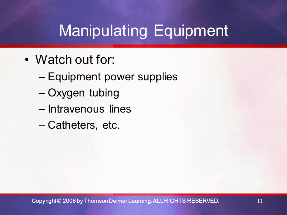 Manipulating Equipment