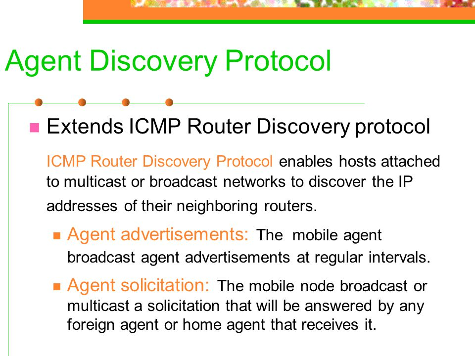 Agent Discovery Protocol