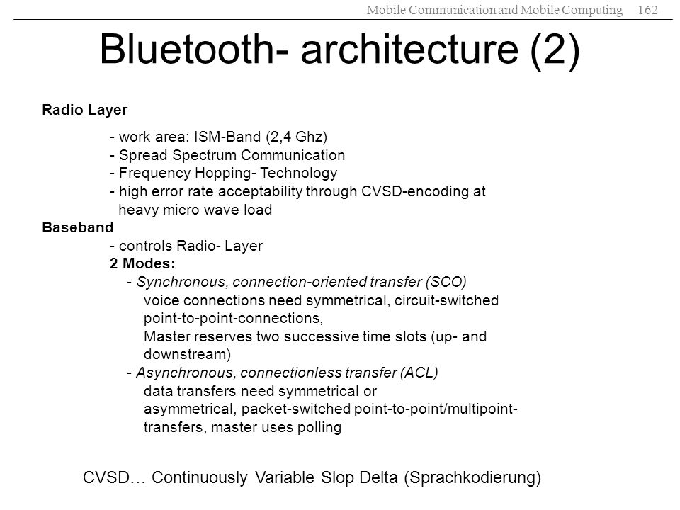 Bluetooth- architecture (2)