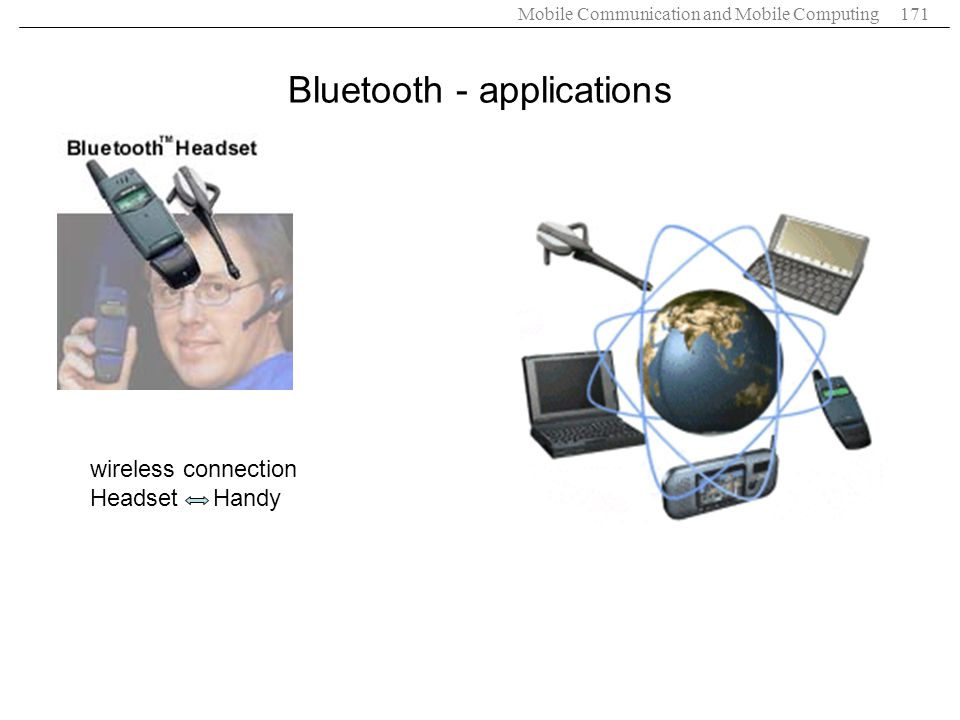 Bluetooth - applications