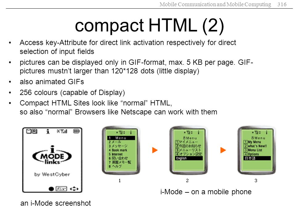 compact HTML (2) Access key-Attribute for direct link activation respectively for direct selection of input fields.