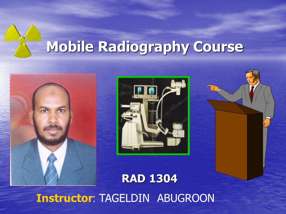 Mobile Radiography Course